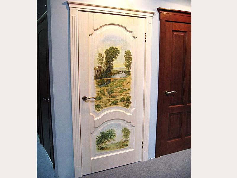Фрески на дверь