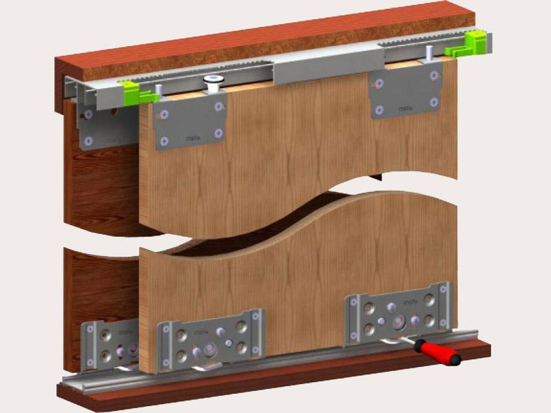 Двери купе из дсп, применение листового дсп для фасадов шкаф.